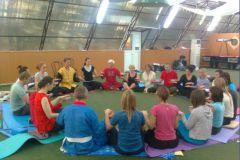 Завершающая медитация в кругу