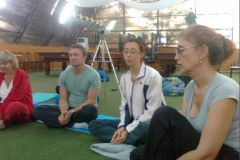 Участники рассказывают о своем опыте, полученном на этом семинаре