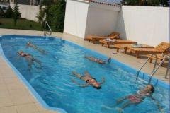 Наш бассейн для занятий акватерапией