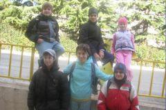 Детская группа собралась в поход