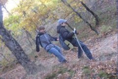 Детям интересно ходить по горам