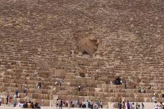 Вход в Великую пирамиду