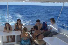 Переход к  другому  «дельфиньему» рифу
