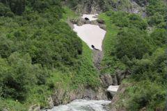 Выход в ущелье Аманауз