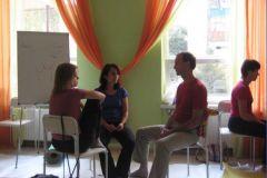Терапевтическая работа в тройках