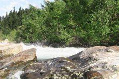 Взаимодействие во времени - воды и камня